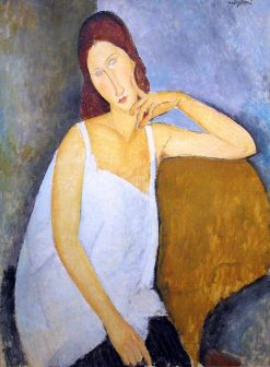 Jeanne Hébuterne | Amedeo Modigliani | Oil Painting