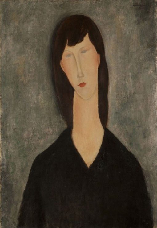 Bust of a Woman | Amedeo Modigliani | Oil Painting