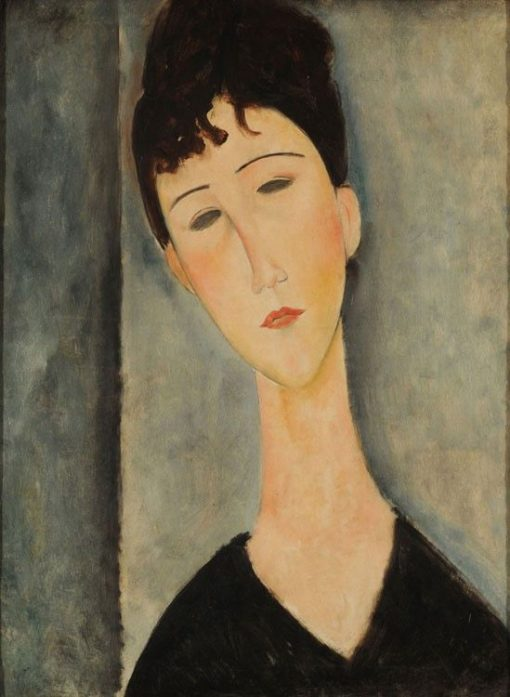 Female Figure | Amedeo Modigliani | Oil Painting