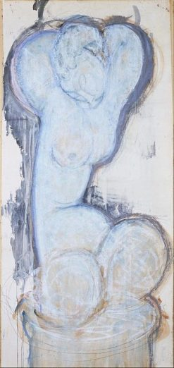 Caryatid | Amedeo Modigliani | Oil Painting