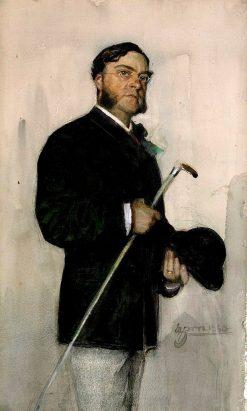 Banker Ludvig Arosenius | Anders Zorn | Oil Painting