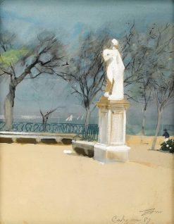 Alameda de Apodaca in Cádiz | Anders Zorn | Oil Painting