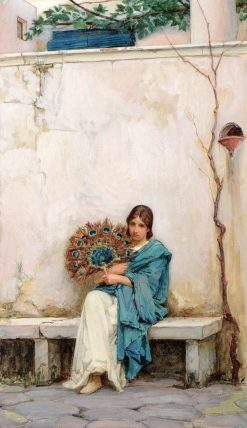 Day Dreams | John William Waterhouse | Oil Painting