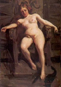 Freja | Anders Zorn | Oil Painting