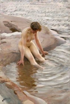 Wet | Anders Zorn | Oil Painting