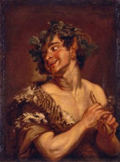 Bacchus | Anna Dorothea Therbusch | Oil Painting