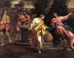 Christ and the Woman of Samaria | Annibale Carracci | Oil Painting