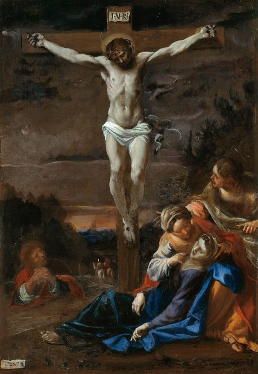 The Crucifixion | Annibale Carracci | Oil Painting