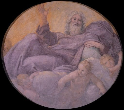 Everlasting Father | Annibale Carracci | Oil Painting
