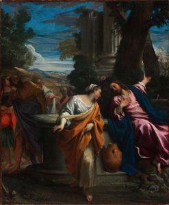 Christ and the Samaritan Woman | Annibale Carracci | Oil Painting