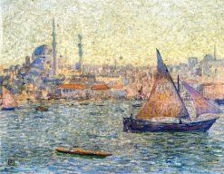 View of Istambul | Theo van Rysselberghe | Oil Painting