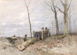 De mallejan | Anton Mauve | Oil Painting