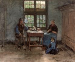 Larens Interior | Anton Mauve | Oil Painting