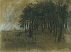 Forest Edge | Anton Mauve | Oil Painting