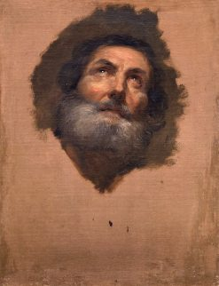 Head of an Apostle | Anton Raphael Mengs | Oil Painting