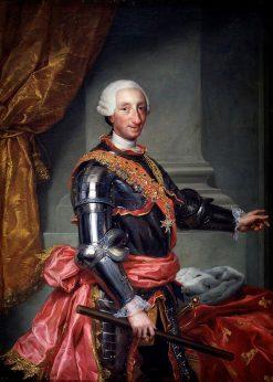 Charles III of Spain | Anton Raphael Mengs | Oil Painting