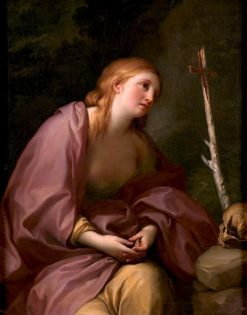 The Penitent Magdalene | Anton Raphael Mengs | Oil Painting