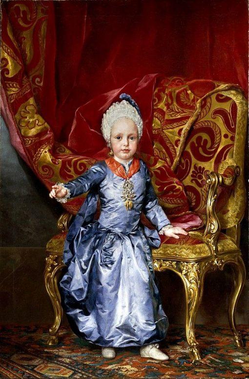 Archduke Franz Joseph Karl | Anton Raphael Mengs | Oil Painting