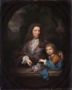 Jan van de Poll and his Son Harmen Hendrick | Arnold Boonen | Oil Painting