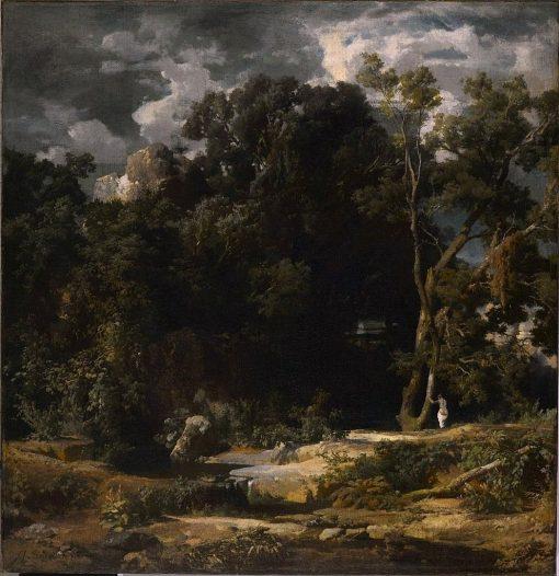 Roman Landscape   Arnold Böcklin   Oil Painting