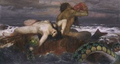 Triton and Nereid | Arnold Böcklin | Oil Painting