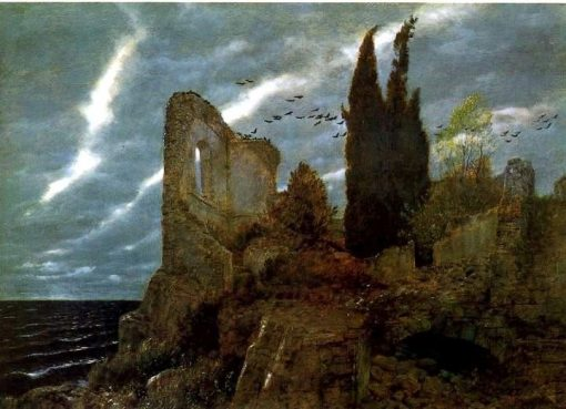 Ruins by the Sea | Arnold Böcklin | Oil Painting