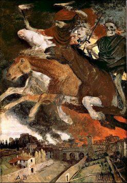 The War | Arnold Böcklin | Oil Painting
