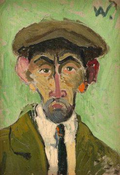Autoportrét | Arnold Peter Weisz-Kubín?an | Oil Painting