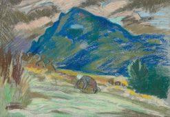 Cho? a žena   Arnold Peter Weisz-Kubín?an   Oil Painting