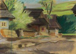 Dedinka | Arnold Peter Weisz-Kubín?an | Oil Painting