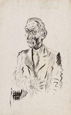 Autoportrét s rukou | Arnold Peter Weisz-Kubín?an | Oil Painting