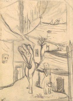 Bieda duše | Arnold Peter Weisz-Kubín?an | Oil Painting
