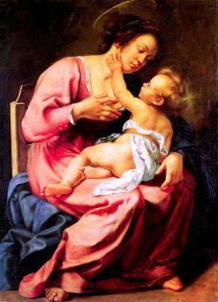 Madonna and Child | Artemisia Gentileschi | Oil Painting