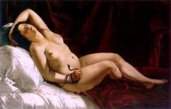 Death of Cleopatra | Artemisia Gentileschi | Oil Painting