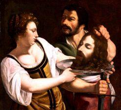 Salome with the Head of Saint John the Baptist | Artemisia Gentileschi | Oil Painting