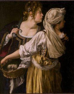 Judith and her Maidservant | Artemisia Gentileschi | Oil Painting