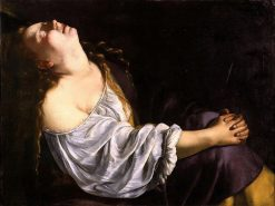 Mary Magdalene in Ecstasy | Artemisia Gentileschi | Oil Painting