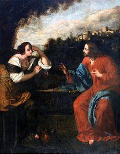 Christ and the Samaritan Woman | Artemisia Gentileschi | Oil Painting