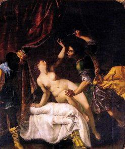 Lucretia | Artemisia Gentileschi | Oil Painting