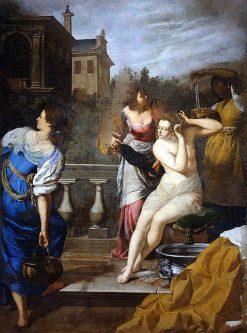 David and Bathsheba | Artemisia Gentileschi | Oil Painting