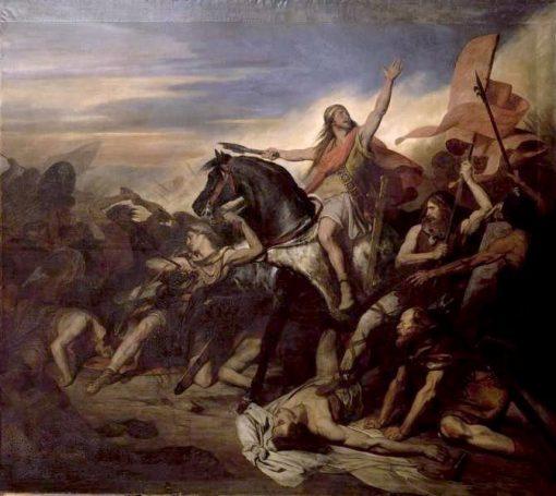 Battle of Tolbiac | Ary Scheffer | Oil Painting