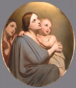 Blessed are the Pure Ones | Ary Scheffer | Oil Painting