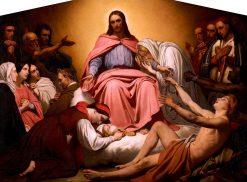 Christus Consolator | Ary Scheffer | Oil Painting