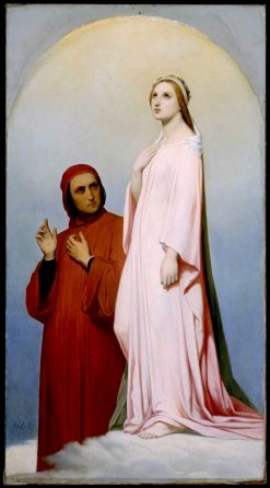 Dante and Beatrice | Ary Scheffer | Oil Painting