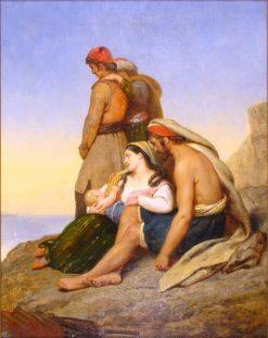 Greek Exiles on a Rock