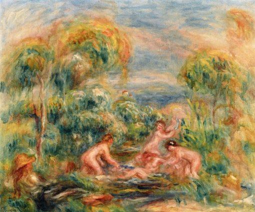Study of Bathers | Pierre Auguste Renoir | Oil Painting