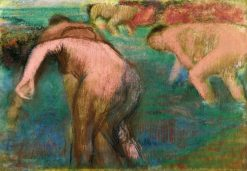 Women Bathing | Edgar Degas | Oil Painting