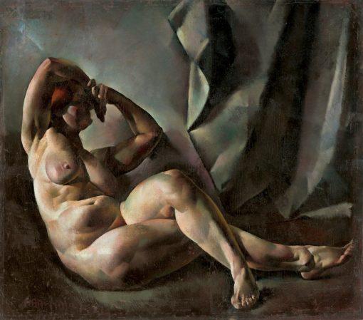 Nude Study | Vilmos Aba-Novák | Oil Painting