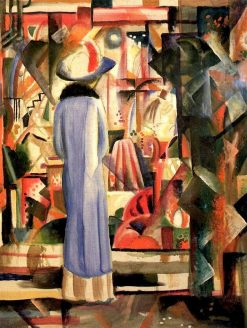 Big Bright Showcase | August Macke | Oil Painting