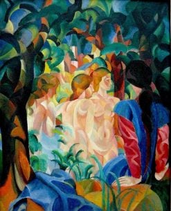 Bathers | August Macke | Oil Painting